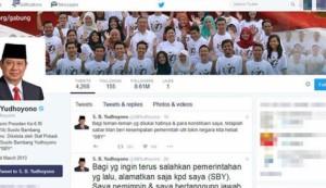 Twitter Pak SBY