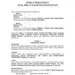 10 Contoh Surat Perjanjian Jual Beli Rumah Sederhana Contoh Surat