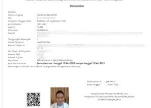 Download Contoh Surat Izin Keluar