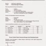 Contoh Surat Dukungan Distributor Pengadaan Eprocurement