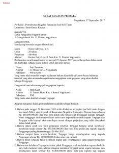 Contoh Surat Gugatan Perdata Tentang Sengketa Jual Beli Hak Dan
