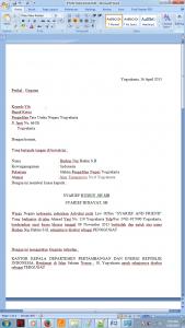 Contoh Surat Gugatan PTUN Dalam Dinding Kelasku