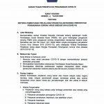 Contoh Surat Keterangan Kerja Sebagai Dokumen Pendukung Psbb