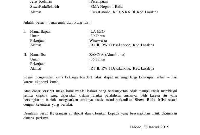 Download Gratis Contoh Surat Jalan Dari Desa