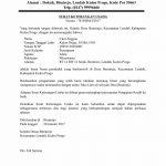 Contoh Surat Keterangan Usaha SKU Terlengkap Contoh Surat