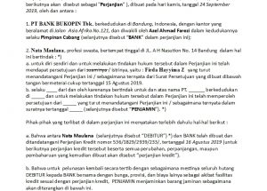 Download Gratis Contoh Surat Fidusia