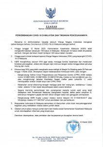 EMBASSY OF THE REPUBLIC OF INDONESIA IN KUALA LUMPUR MALAYSIA