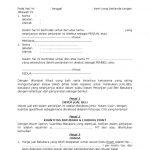 Foto Contoh Surat Perjanjian Force Majeure 69 Di Ide Membuat Surat