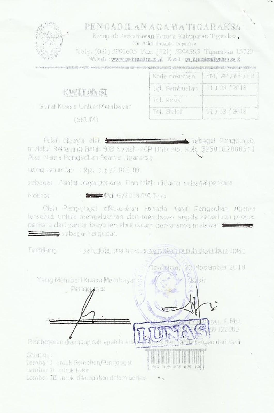 Hukum Indonesia Gugatan Cerai Di Tangerang
