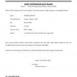 Keterangan Aktif Kuliah Unja Surat Pendidikan Sekolah