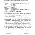 Perjanjian Hutang Dengan Jaminan Surat Tanggal Tanda