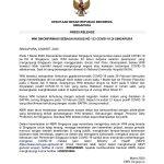 PRESS RELEASE 8 MARET 2020 WNI Dikonfirmasi Sebagai Kasus Ke 133