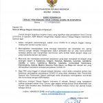 Surat Edaran 4 Terkait Penyebaran Virus Corona Covid 19 Di Spanyol