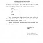 Surat Keterangan Aktif Kuliah Mahasiswa Fakultas Ekonomi Dan