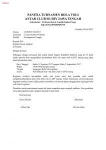 Surat Peminjaman Tempat Untuk Seminar Pernikahan Dan Contohnya
